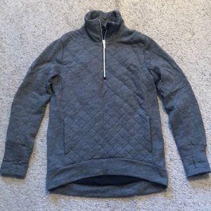 Lululemon Quilted Half Zip Pullover